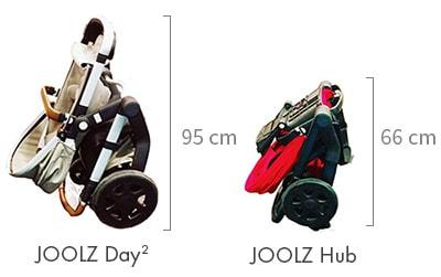 Joolz Hub sportovní kočárek skládání